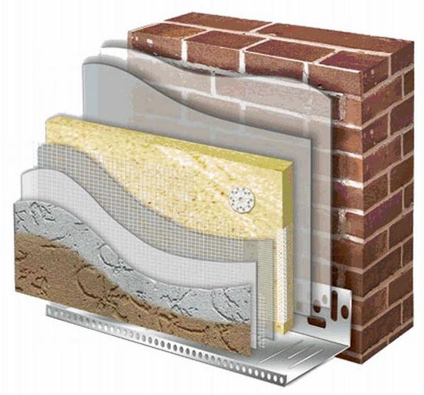 Смеси для систем внешней теплоизоляции зданий