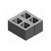 БСС 390х380х190 (2) Модуль бетонный