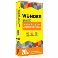 Клей для плитки WUNDER универсальный 20 кг