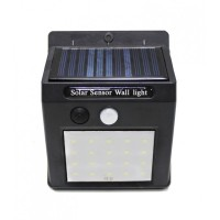 Светильник светодиодный на солнечной батарее (5.5V,0.55W,18650Li,3.7V,1200mAh,20SMD 2835Led,6500К,раб. время3-4ч,заряд.4-6ч,IP44,95х124х50мм) арт.RK-SWA5050
