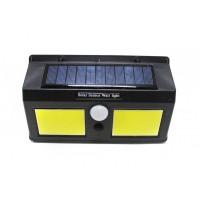 Светильник светодиодный на солнечной батарее с датчиком движения (5.5V,1.2W,18650Li,3.7V,1200mAh,40SMD Led,6500К,раб. время8-10ч,заряд.4-6ч,IP44,175х1 арт.RK-SWB8019C-PIR