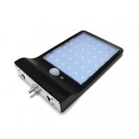 Светильник светодиодный на солнечной батарее с датч. движ-я и доп. креплением(5.5V,2.5W,18650Li,3.7V,2000mAh,36SMD Led,6500К,раб. время8-10ч,заряд.4-6 арт.RK-SWC6011-PIR+доп.крепление
