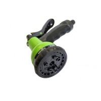 Пистолет-распылитель пластиковый с регулировкой подачи воды(8 режимов распыления) арт.TG7201004