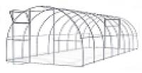 Теплица Садовод Агро-40  (4х3х2 м) + удлинение