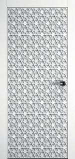 """Панель """"Полотно дверное щитовое"""" Акварель 11"""