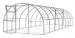 Теплица Садовод Элит-30  (4х3х2 м) + удлинение