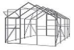 Теплица Садовод Кантри  (4х2, 8х2 19м) + удлинение